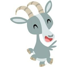 Cute Cartoon Prancing Goat Women T-Shirt