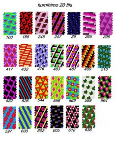 Etsy - Shop for handmade, vintage, custom, and unique gifts for everyone Seed Bead Patterns, Peyote Patterns, Beading Patterns, Crochet Patterns, Card Weaving, Peyote Beading, Friendship Bracelet Patterns, Bead Crochet, Filet Crochet