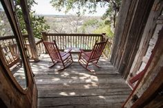 With a private porch overlooking the beautiful Guadalupe River, this is one of our most popular rooms. The room features a queen bed, bathroom with...