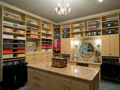 A closet can be more than just a space to store items. Check out what makes these luxurious closets a place to enjoy and relax.