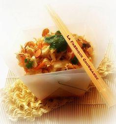 La Fabrique Gourmande: Ramen Coleslaw :Salade de chou et nouilles croquantes chinoise