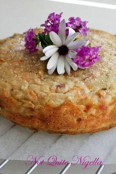 Recipe; Kitchen Garden Cake  A Downton Abbey recipe  Great idea for a tea party!