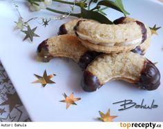 Babiččiny plněné rohlíčky Slovak Recipes, Czech Recipes, Mexican Food Recipes, Czech Desserts, Cookie Desserts, Christmas Sweets, Christmas Baking, Wonderful Recipe, Chocolate Frosting