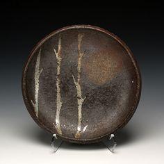 *Ceramic Plate by Karin Solberg