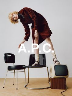 A.P.C. FALL 2016. LAURA HAGESTED SHOT BY COCO CAPITAN.