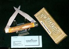 Schrade NYK34S Muskrat Knife Bone Stag Handles W/Original Packaging,Papers Rare @ ditwtexas.webstoreplace.com