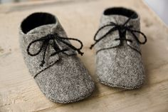 Handmade baby shoes Personalized baby gifts by MartBabyAccessories - Baby Boy Shoes - Ideas of Baby Boy Shoes - Baby boy GREY or BROWN tweed shoes wool fabric oxford shoes booties sneakers. lace up shoes little man shoes Baby Boy Shoes, Crib Shoes, Toddler Shoes, Baby Booties, Baby Boy Outfits, Booties Crochet, Baby Sandals, Tweed, Baby Sneakers