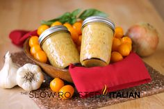 Yellow Grape Tomato Sauce