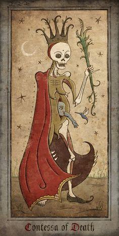 Contessa of Death by Patrick Valenza