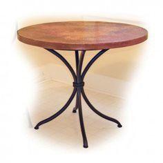 Copper Top Pub Table | Carolina Rustica
