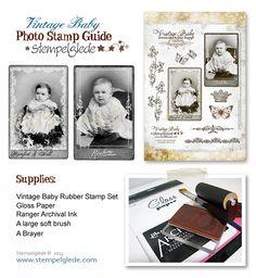Stempelglede :: Design Team Blog: Photo Rubber Stamp Guide. 2014 © Stempelglede