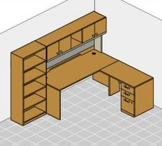 L shaped desk for my craft room/office