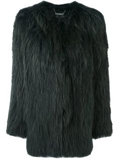 round neck short coat