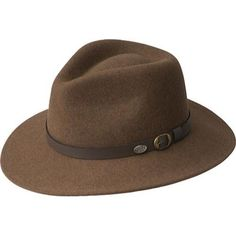 LiteFelt® hats combine traditional artisanship with today's leading technology to produce a revolutionary water repellent hat in 100-percent wool felt. Soft and packable, with remarkable memory, LiteF
