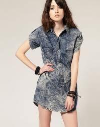 vestidos de verao curtos 2012 jeans