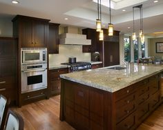 Kitchen Dark Wood Kitchen Design, Pictures, Remodel, Decor and Ideas