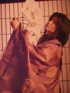 See GACKT pictures, photo shoots, and listen online to the latest music. Japanese Boy, Japanese Kimono, Yukata, Beautiful Boys, Pretty Boys, Miyavi, Gackt, Cosplay, Visual Kei