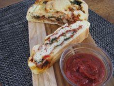 Gluten-free Pizza Roll-up (aka Stromboli)