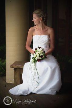 bride at the pines. Wedding photographer, Wellington, New Zealand. http://www.paulmichaels.co.nz