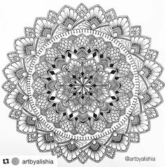 Mandala Designs (@mandalaslovers) • Fotos y vídeos de Instagram Mandala Pattern, Zentangle Patterns, Mandala Design, Zentangles, Mandala Drawing, Mandala Painting, Mandala Art, Mandala Coloring Pages, Coloring Book Pages