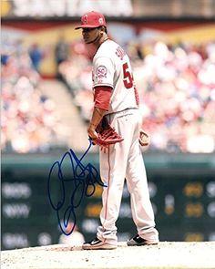 Ervin Santana Los Angeles Angels Baseballs