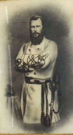 Confederate General Jean Jacques Alfred Alexandre Mouton was killed leading a charge April 8th 1864 during the Battle of Mansfield.