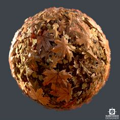 ArtStation - Fallen Autumn Leaves, Eric Wiley