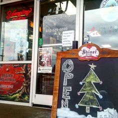 Yes it's sunday and yes we are open! Stop on in and see us. Here until 4pm today!  Get yourself ready for the #ravens vs then#eagles or get those #christmas gifts before we are all out! #christmastree