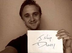 Tom Felton himself ships Drarry. It's the bast day of my life!
