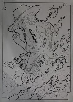 Portgas D. Ace - Whitebeard Pirates