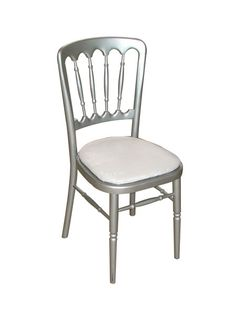 Elite hire silver Cheltenham chairs