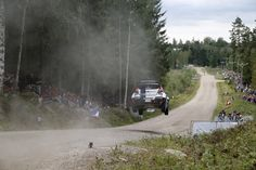 Rally Finland - Jyvaskyla, Finland