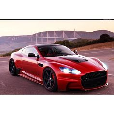 i really like this Red Aston Martin!!