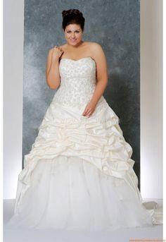 Herz-neck A-linie Bodenlang Schönste Brautkleider für Prinzessin