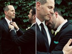 Ronnie Mallette & Brent Ferricci - 11Alive Winners' Big, Fat, Gay Wedding - See more: http://www.projectqatlanta.com/news_articles/view/11alive_winners_big_fat_gay_wedding_photos1