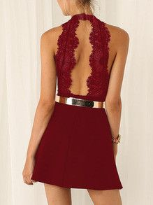 Little Red Dress is classy sexy trendy and perfect for wearing to the homecoming dance as a wedding dress or for dinner or drinks! - Lyfie