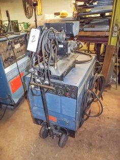 MILLER MIG WELDER MODEL: PULSTAR 450 WITH MILLERMATIC WIRE FEED MODEL: S-54A  Large NJ Fabricating Shop - 2 locations Online Auction October 2nd - Bidding Open Now Through October 2nd Bidding starts to close at 1:00 PM/Eastern   Available at Online Auction at http://www.acceleratedbuysell.net/cgi-bin/mnlist.cgi?perillo53%2Fcategory%2FALL
