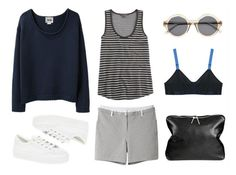 tomboy look essentials Summer Outfits, Casual Outfits, Weekend Wear, Fashion Essentials, Modern Fashion, Polyvore Fashion, Polyvore Outfits, What To Wear, Style Inspiration