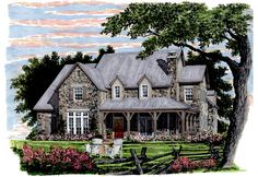 Lavendale Southern Living House Plan