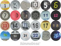 Adventskalender 24 Buttons