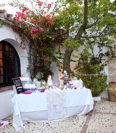 mis dulces tentaciones - tartas, galletas, cupcakes & buffet de dulces, party decorations : Diana & Maarten en Sevilla con Amor