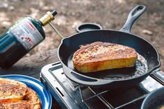 This is the one and only recipe you'll need to make exceptional French toast on your next camping trip. French toast is a great camping breakfast, but there's a surprising number of ways for it Perfect French Toast, Make French Toast, Tapenade, Hard Boiled, Paleo, Tahini, Nachos, Slimming World, Burritos