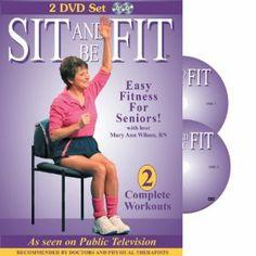 26 best exercise dvd s for seniors images on pinterest chair