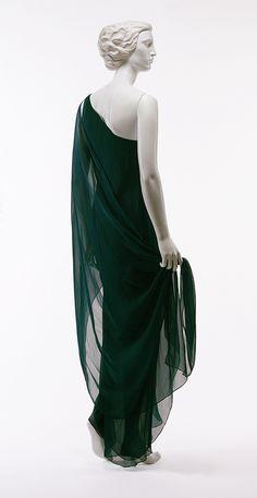 Evening gown, 1970s  Halston