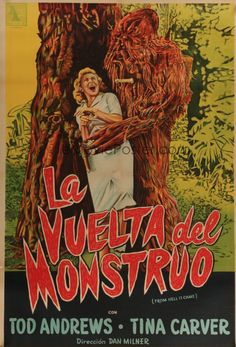 Born of Jungle Witchcraft!' From Hell It Came is a 1957 American science fiction horror film directed by Dan Milner from a screenplay by Richard Bernstein, based on … Science Fiction Art, Horror Films, Things To Come, Weird Things, Creepy, Concept Art, Contemporary Art, Movie Posters, Monsters