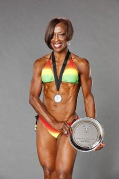 64 year old Ruby Carter Pikes - an inspiration!