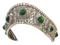 Emerald Tiara   Russian Crown Jewels