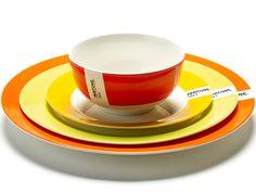 Pantone Tableware by Luca Trazzi for Serax