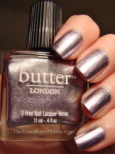 *butterLONDON - Lillibet's Jubilee (Diamond Jubilee Commemorative Lacquer) / TraceFacePhiles