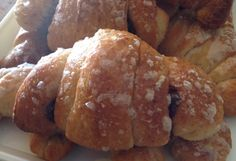 Croissants integrali al miele a lievitazione naturale - lievito liquido - licoli